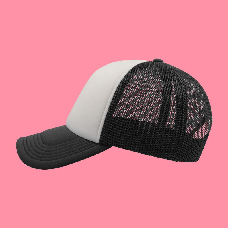 cappellino nero lato