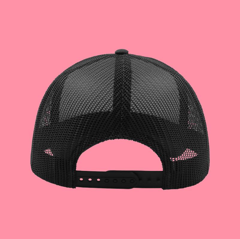 cappellino nero retro
